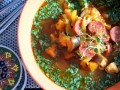 zupa z mięsa przepis video, jak zrobić zupę z mięsa, przepis na mięsną zupę